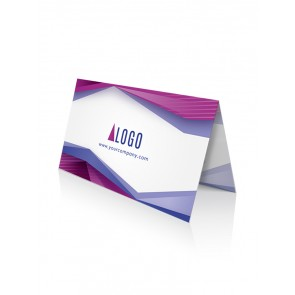 Fold-Over Business cards 3.5 x 4