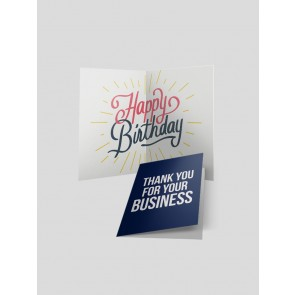 Greeting Cards - Half Fold